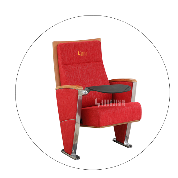 HONGJI red theater seating factory for sale