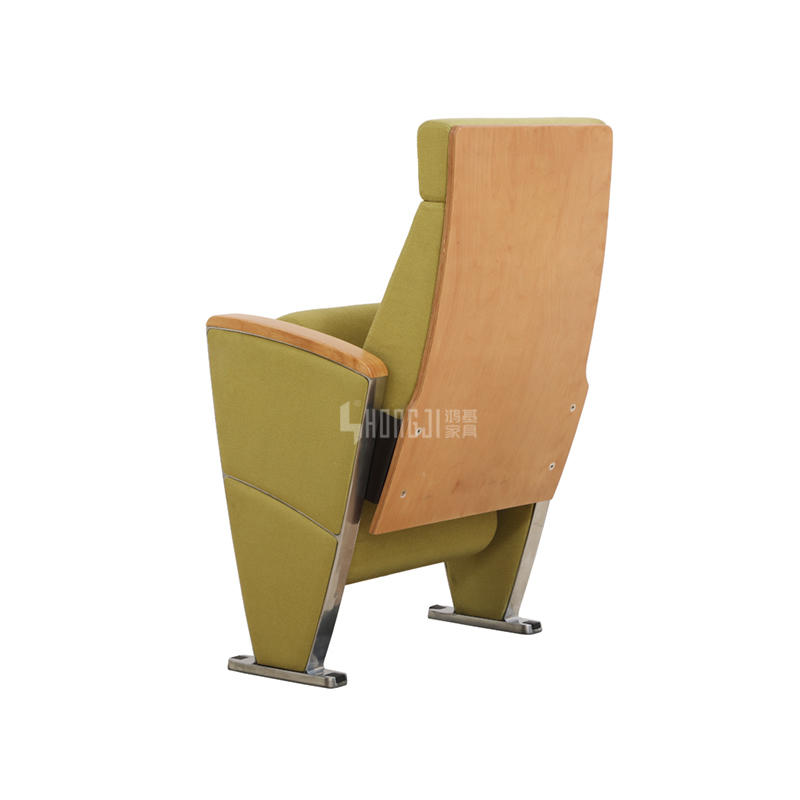2019 hot sale aluminum auditorium seat with ABS writing board HJ9937