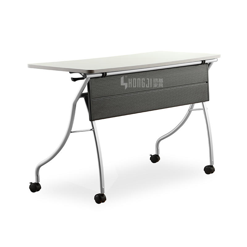 Folding Training Table Learning Table with Casters for Learning Training Institutions of Enterprises GW-B602