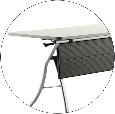 HONGJI movable small office desk factory for school-7