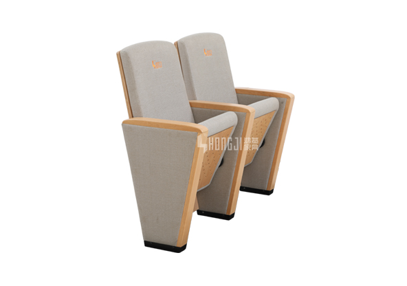 HONGJI newly style real leather theater seating factory for student-10