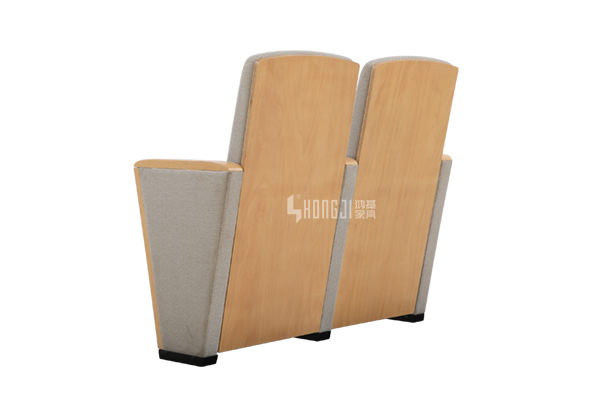 HONGJI newly style real leather theater seating factory for student-11