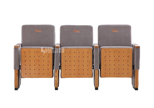 HONGJI black leather theater seats supplier for student-9