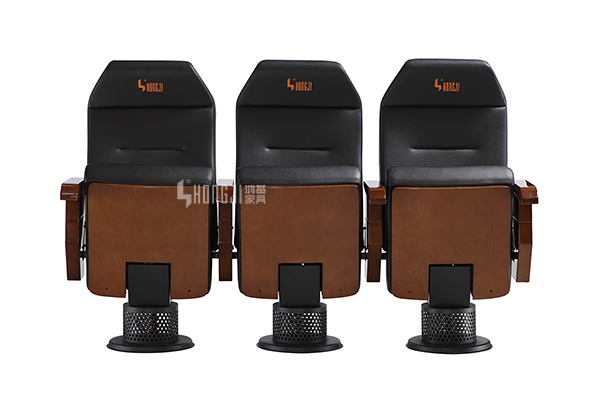 HONGJI high-end black theater chairs factory for student-9