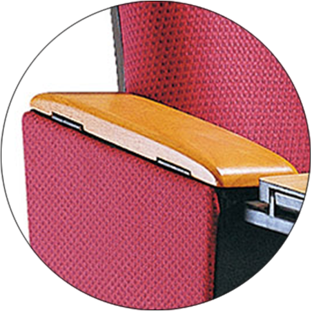 HONGJI newly style church chairs manufacturer for university classroom-3