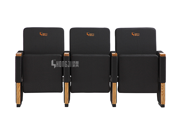 HONGJI real leather theater seating manufacturer for university classroom-9