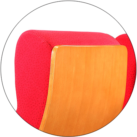 HONGJI newly style leather theater seats supplier for sale-2