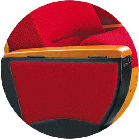outstanding durability 2 seat theater chairs elegant factory for cinema-3