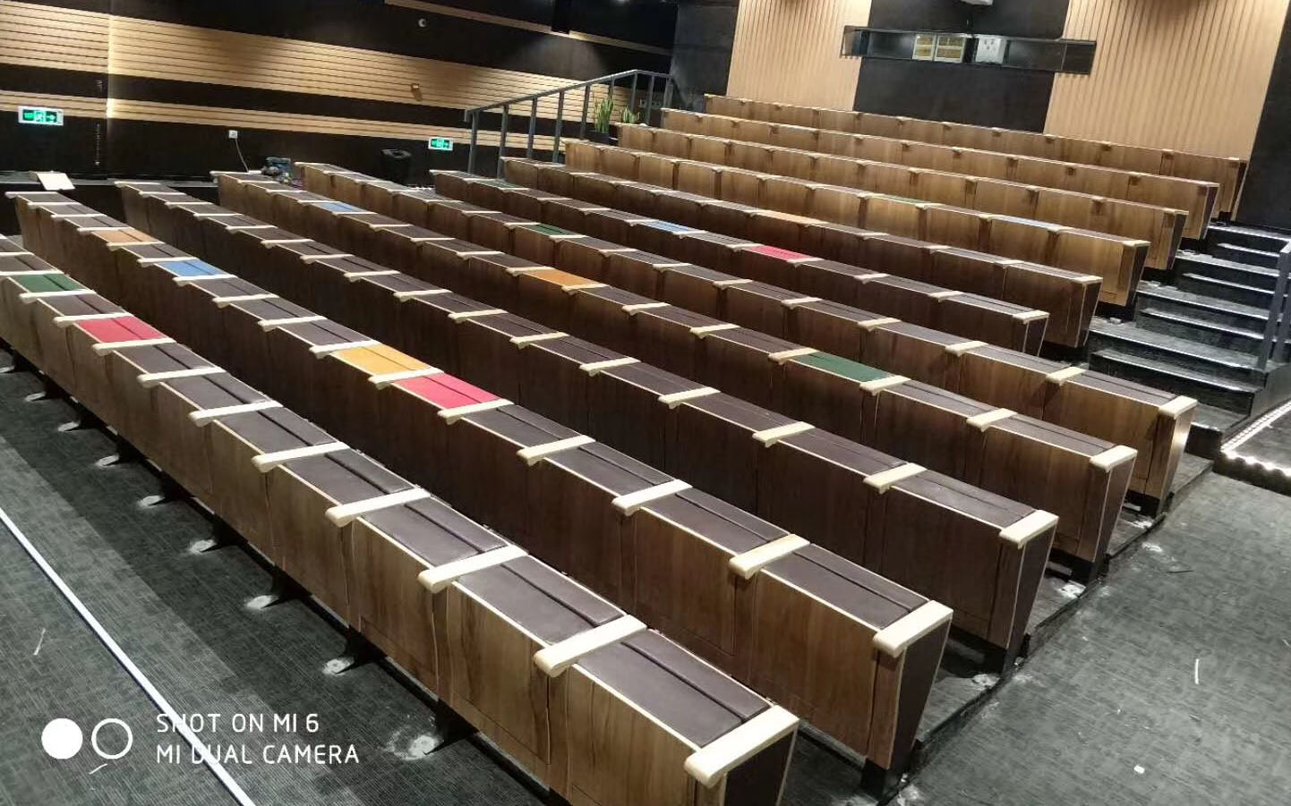 HONGJI newly style fabric theater seating manufacturer for cinema-14