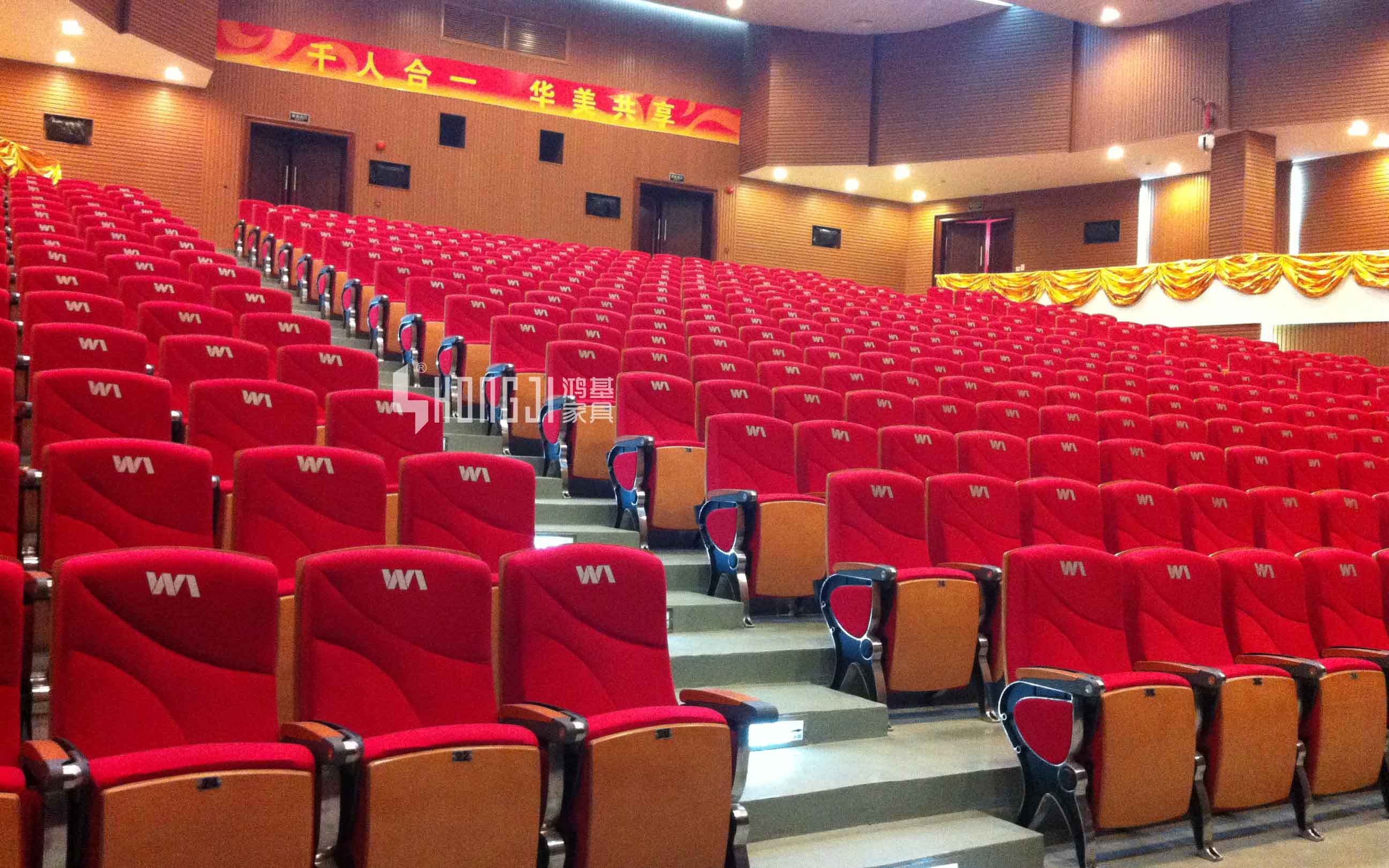 HONGJI leather theater seats factory for cinema-10