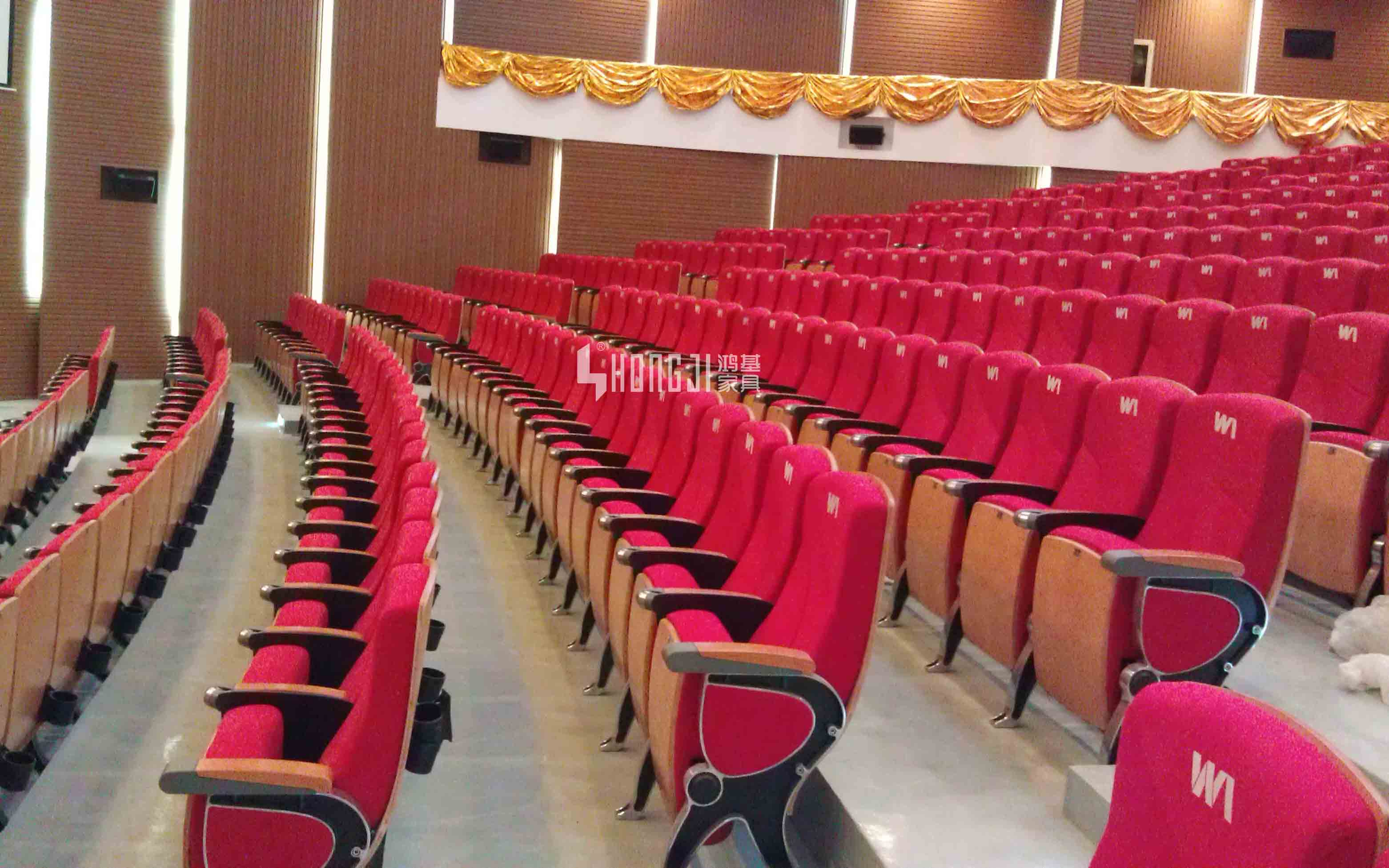 HONGJI leather theater seats factory for cinema-11