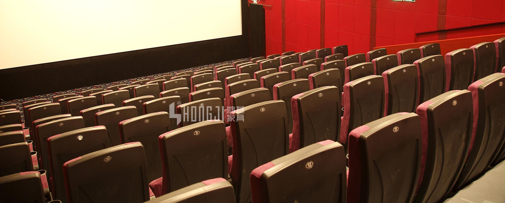 HONGJI hj16f movie theater chairs competitive price for theater-12