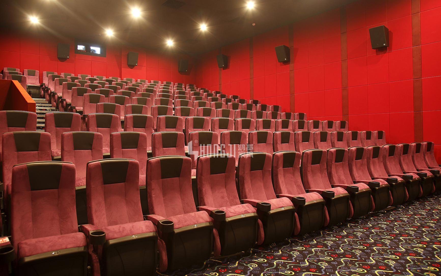 HONGJI hj16f movie theater chairs competitive price for theater-13