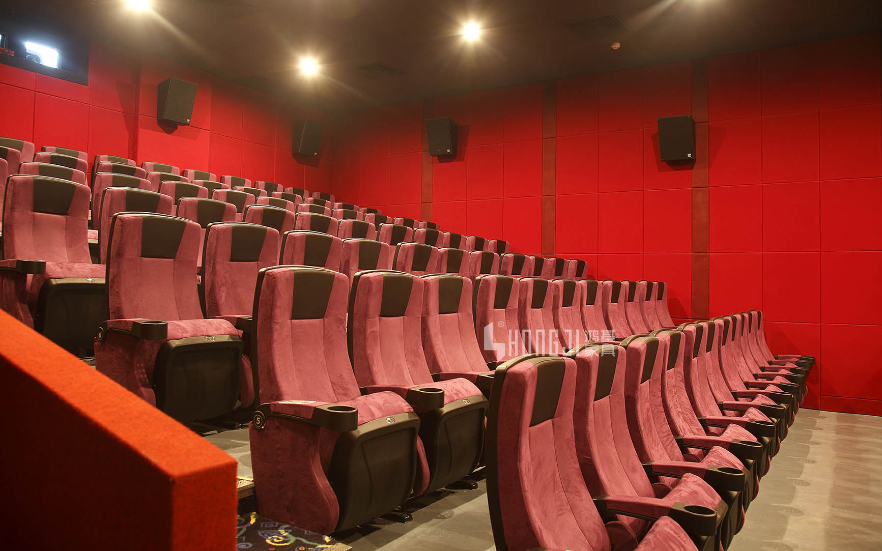 HONGJI hj16f movie theater chairs competitive price for theater-14