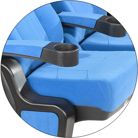HONGJI fashionable cinema chairs for sale oem for cinema-8
