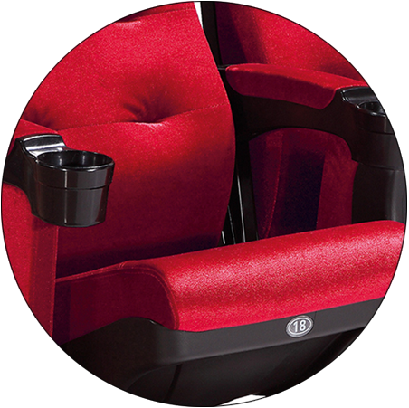 exquisite moving chairs movie theaters hj9922 directly factory price for sale