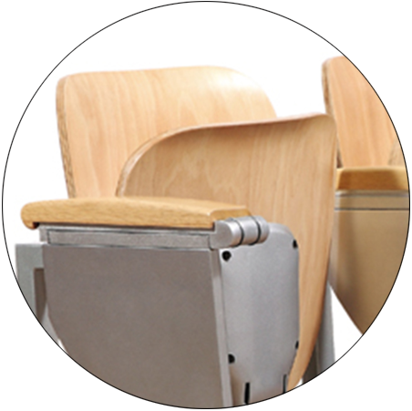 HONGJI ergonomic school desk chair manufacturer for university-2