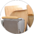 ergonomic study desk and chair tc913 factory for university