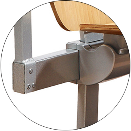 ergonomic study desk and chair tc913 factory for university