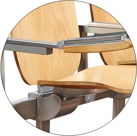 ergonomic study desk and chair tc913 factory for university-8