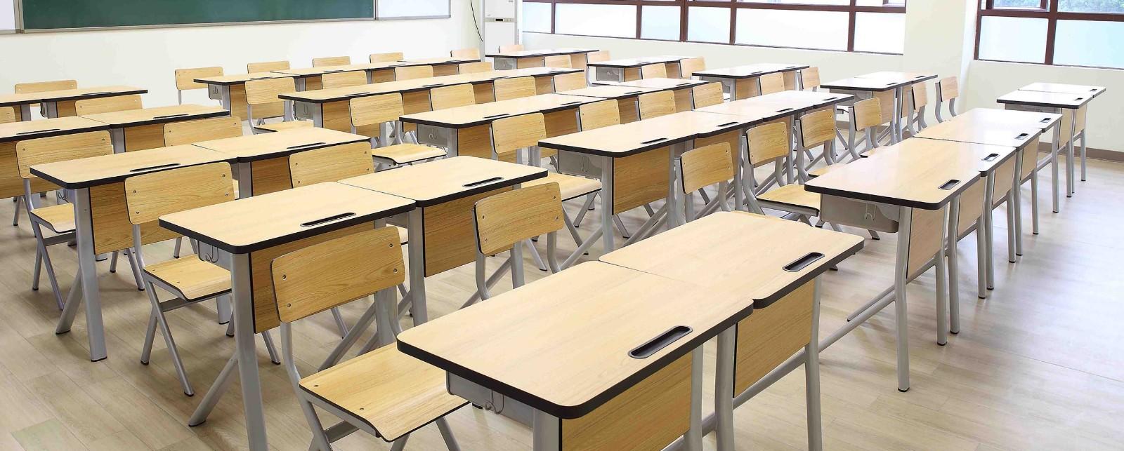 HONGJI tc004 school table and chair set manufacturer fpr classroom-12