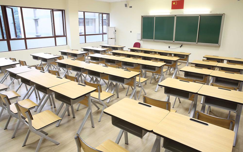 HONGJI tc004 school table and chair set manufacturer fpr classroom-13