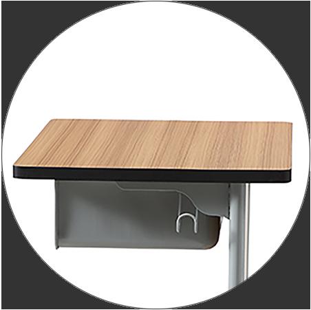 HONGJI tc004 school table and chair set manufacturer fpr classroom-2