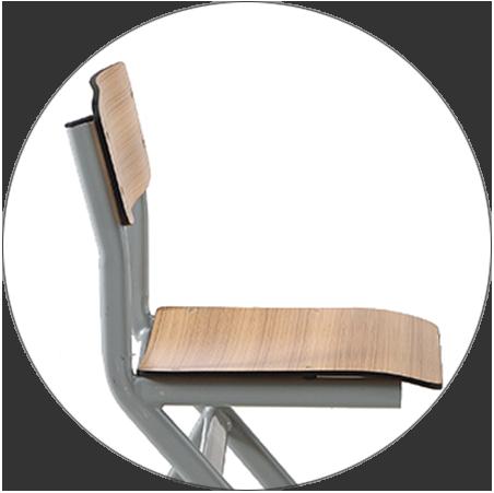 HONGJI tc004 school table and chair set manufacturer fpr classroom-6