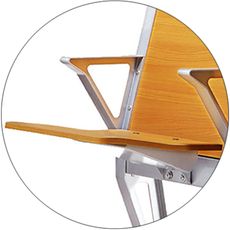 HONGJI ISO9001 certified wooden school chairs for school-2