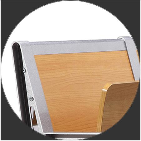 HONGJI ISO9001 certified wooden school chairs for school-3