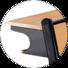 HONGJI ergonomic innovative classroom furniture factory for school