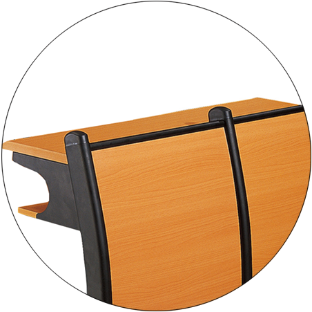 ISO14001 certified classroom chairs tc982 supplier for high school