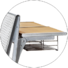 HONGJI tc905a classroom tables and chairs manufacturer for school