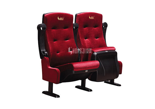 HONGJI fashionable home theater seating 4 seater directly factory price for theater