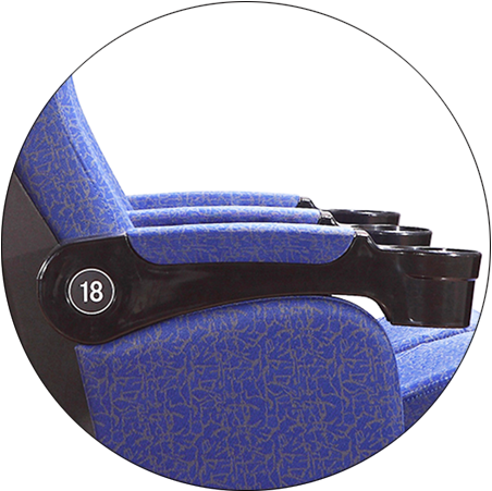 HONGJI hj9922 home theater seating 4 seater factory for cinema