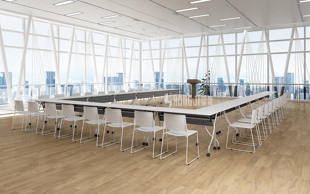 HONGJI foldable training table factory for student-12