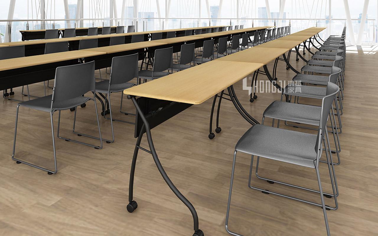 HONGJI foldable training table factory for student-13