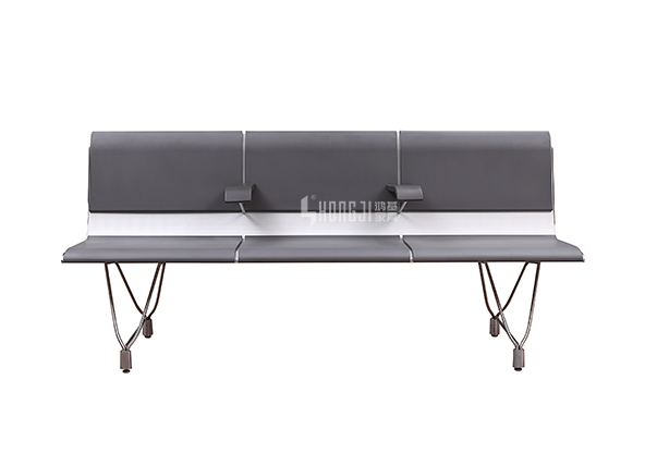 HONGJI h63d3 waiting room bench seating factory for travel terminal-9