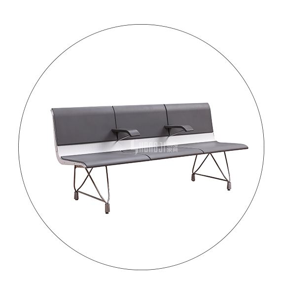 HONGJI h63d3 waiting room bench seating factory for travel terminal-5