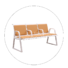 HONGJI h72d3 waiting room furniture public seating solution for bank