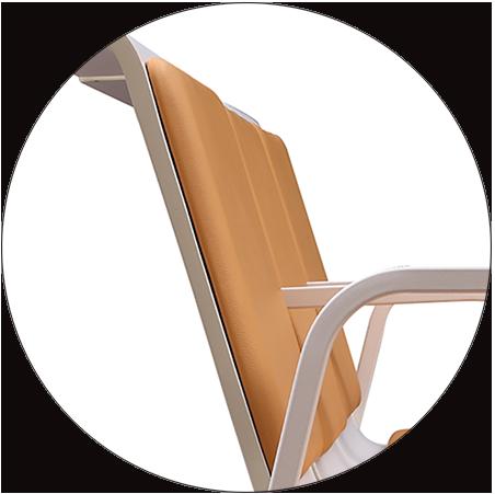HONGJI h60b3 reception seating design for bank-3