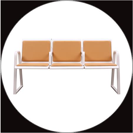 HONGJI h60b3 reception seating design for bank-8