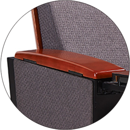 HONGJI high-end real leather theater seating supplier for office furniture-3