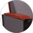 HONGJI high-end real leather theater seating supplier for office furniture