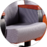 HONGJI high-end black leather theater chairs manufacturer for office furniture