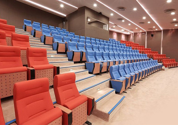 HONGJI elegant auditorium theater seating supplier for university classroom-10