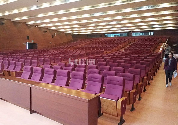 HONGJI elegant auditorium theater seating supplier for university classroom-11