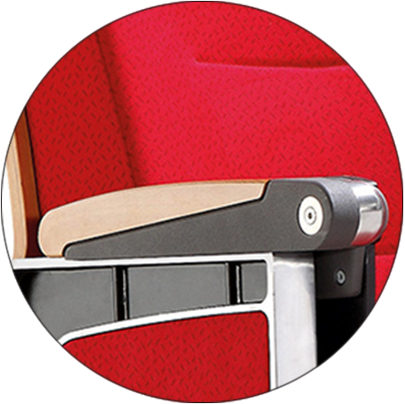 HONGJI unparalleled leather theater seats supplier for office furniture