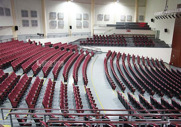 HONGJI 4 chair theater seating factory for cinema-11