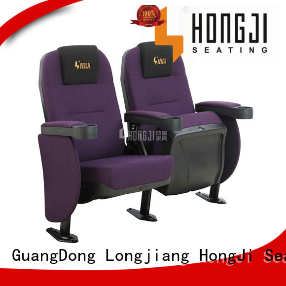 fashionable home theater seating hj815a directly factory price for cinema